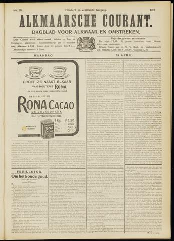 Alkmaarsche Courant 1912-04-29