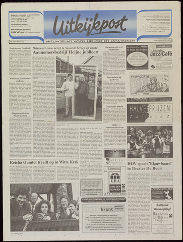Uitkijkpost : nieuwsblad voor Heiloo e.o. 2000-01-19