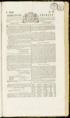 Alkmaarsche Courant 1842-11-21