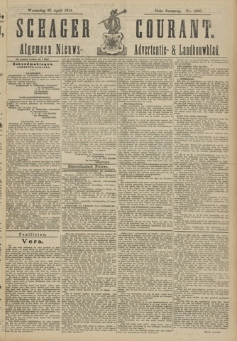 Schager Courant 1911-04-26