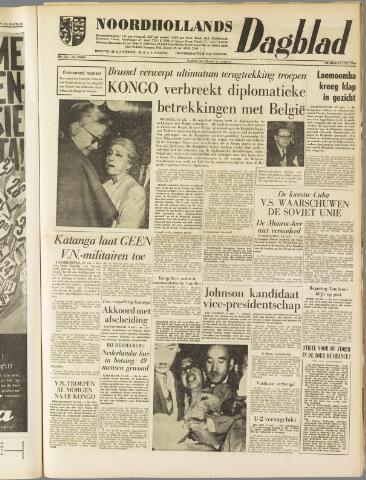 Noordhollands Dagblad : dagblad voor Alkmaar en omgeving 1960-07-15