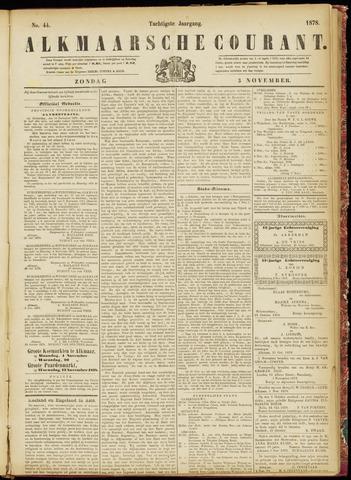 Alkmaarsche Courant 1878-11-03