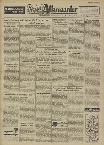 De Vrije Alkmaarder 1950-04-19