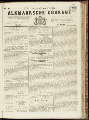 Alkmaarsche Courant 1862-03-30