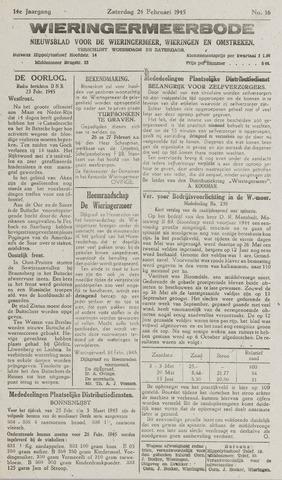 Wieringermeerbode 1945-02-24