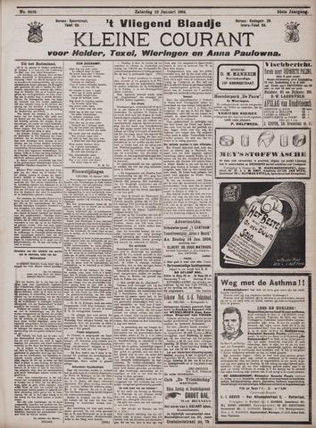 Vliegend blaadje : nieuws- en advertentiebode voor Den Helder 1906-01-13