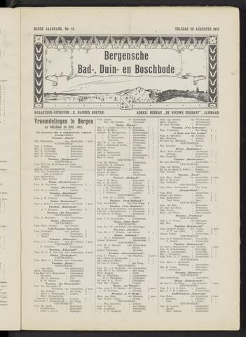 Bergensche bad-, duin- en boschbode 1912-08-30