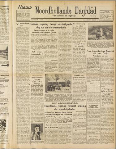 Nieuw Noordhollandsch Dagblad : voor Alkmaar en omgeving 1947-07-10