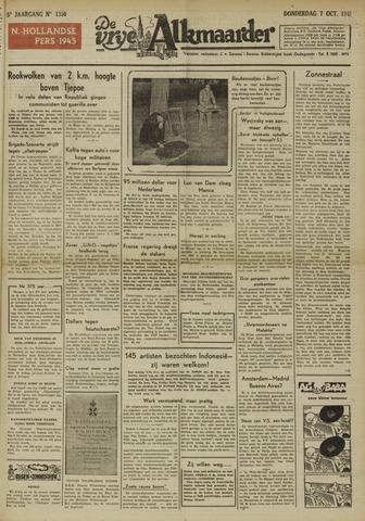 De Vrije Alkmaarder 1948-10-07
