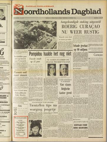 Noordhollands Dagblad : dagblad voor Alkmaar en omgeving 1969-06-02
