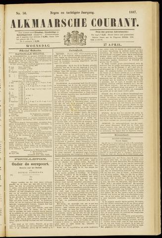 Alkmaarsche Courant 1887-04-27
