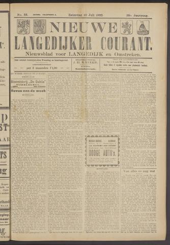Nieuwe Langedijker Courant 1920-07-10