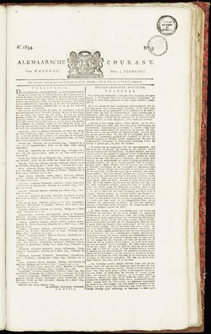 Alkmaarsche Courant 1834-02-03