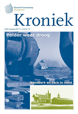 Kroniek Historisch Genootschap Wieringermeer 2017