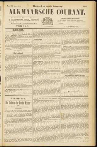 Alkmaarsche Courant 1899-08-11