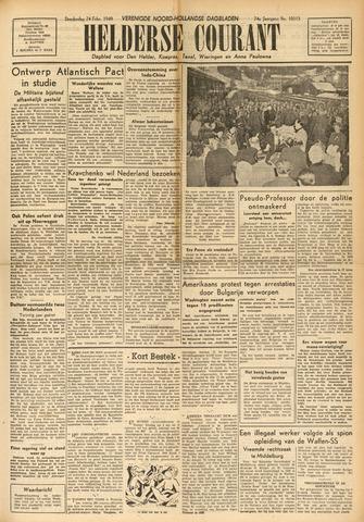 Heldersche Courant 1949-02-24