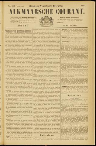 Alkmaarsche Courant 1895-11-24