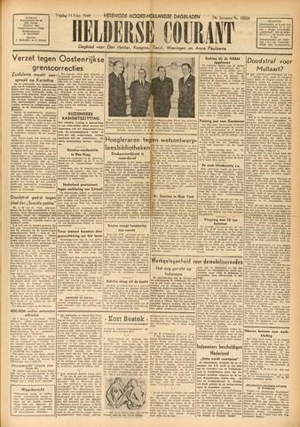 Heldersche Courant 1949-02-11