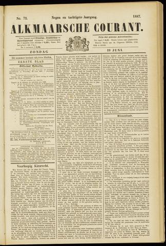 Alkmaarsche Courant 1887-06-19