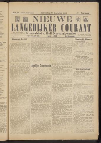Nieuwe Langedijker Courant 1928-08-23