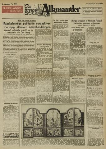 De Vrije Alkmaarder 1948-06-17