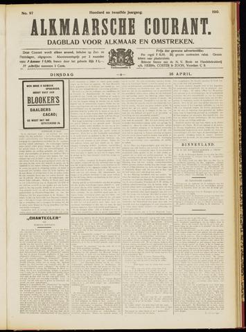 Alkmaarsche Courant 1910-04-26