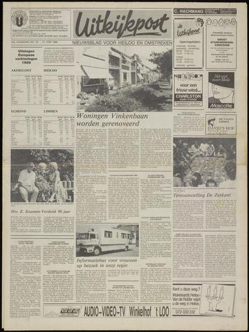Uitkijkpost : nieuwsblad voor Heiloo e.o. 1989-06-21