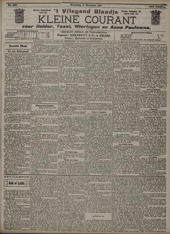 Vliegend blaadje : nieuws- en advertentiebode voor Den Helder 1907-11-27