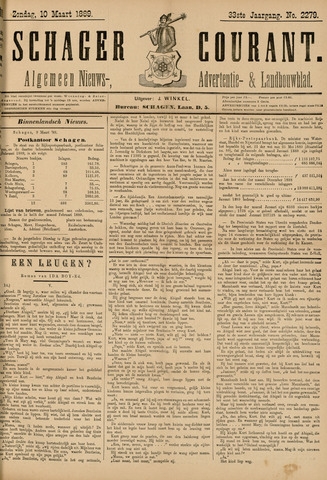 Schager Courant 1889-03-10