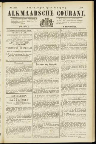 Alkmaarsche Courant 1889-09-08