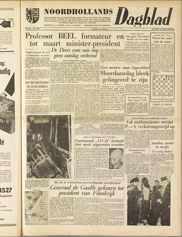 Noordhollands Dagblad : dagblad voor Alkmaar en omgeving 1958-12-22