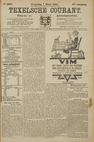 Texelsche Courant 1923-03-07
