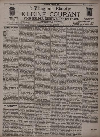 Vliegend blaadje : nieuws- en advertentiebode voor Den Helder 1895-11-09