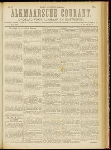 Alkmaarsche Courant 1918-11-01