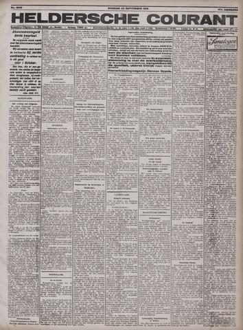 Heldersche Courant 1919-09-22