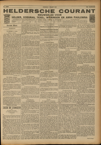 Heldersche Courant 1921-03-01