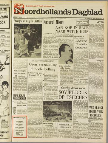 Noordhollands Dagblad : dagblad voor Alkmaar en omgeving 1968-07-31