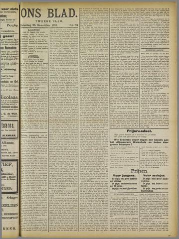 Ons Blad : katholiek nieuwsblad voor N-H 1910-11-26