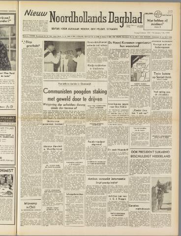 Nieuw Noordhollandsch Dagblad : voor Alkmaar en omgeving 1950-10-06