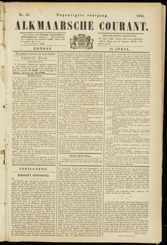 Alkmaarsche Courant 1888-04-15