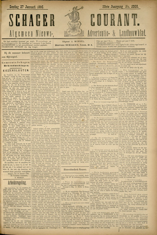 Schager Courant 1895-01-27