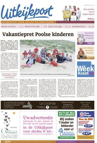 Uitkijkpost : nieuwsblad voor Heiloo e.o. 2011-08-17