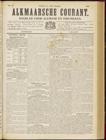 Alkmaarsche Courant 1908-03-03