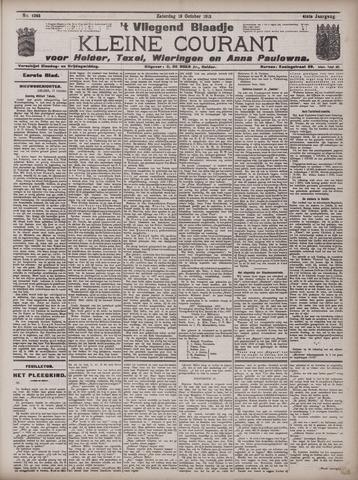 Vliegend blaadje : nieuws- en advertentiebode voor Den Helder 1913-10-18