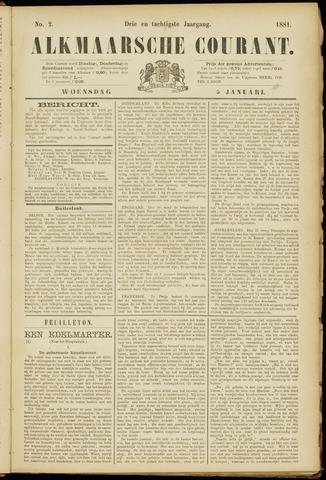 Alkmaarsche Courant 1881-01-05