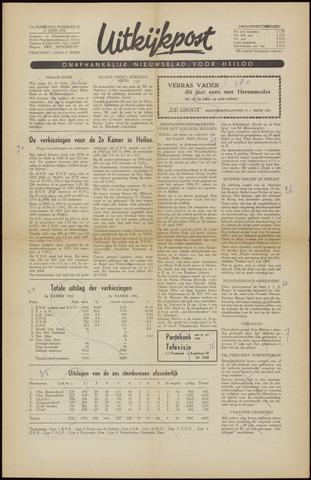 Uitkijkpost : nieuwsblad voor Heiloo e.o. 1956-06-15