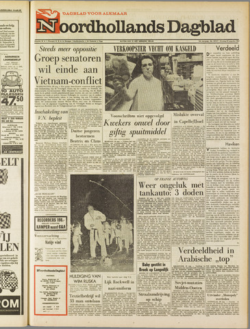Noordhollands Dagblad : dagblad voor Alkmaar en omgeving 1967-08-29