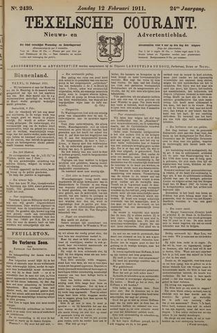 Texelsche Courant 1911-02-12