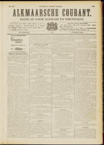 Alkmaarsche Courant 1910-02-01