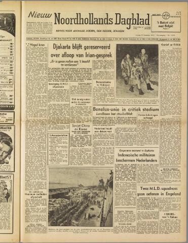 Nieuw Noordhollandsch Dagblad : voor Alkmaar en omgeving 1950-12-29